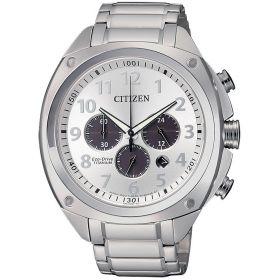 CITIZEN Orologio Cronografo Uomo Citizen Super Titanio CA4310-54A