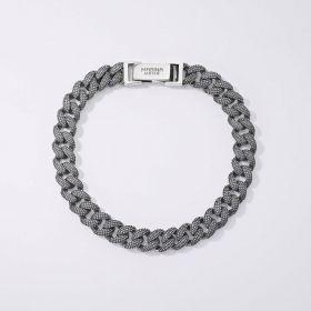533422/L-MABINA UOMO Bracciale Groumette Misura L 21 cm