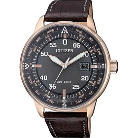 CITIZEN Orologio Solo Tempo Uomo Citizen Aviator BM7393-16H