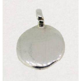 CI105A-Sigillo Tondo 10mm in Argento 925