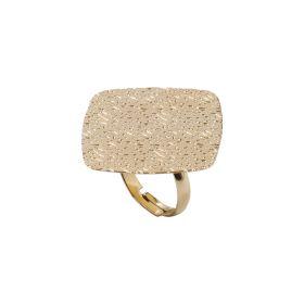 KBA91/2-KEMIRA Anello in Metallo Galvanica Oro Giallo