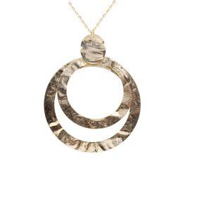 KOC14/2-KEMIRA Collana  in metallo anallergico, in galvanica oro.  Kemìra – Fashion Jewerly made in Italy