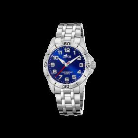 Lotus JUNIOR 18662-2 - orologio al quarzo in acciaio blu bambino