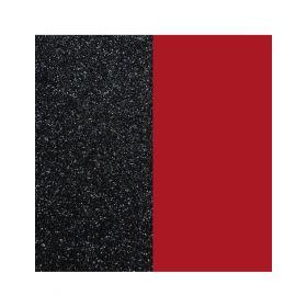 703018584CG000- Inserto Vinile per Anello 12mm Paillettes Nero/Rosso